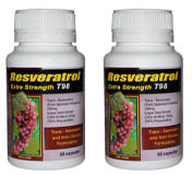 Trans Resveratrol 2 Bottle Deal...